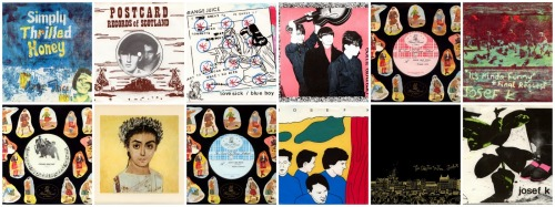 Postcard Records Collage