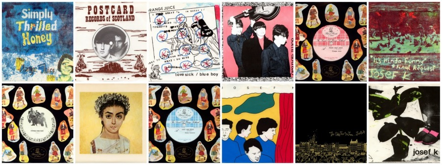 Postcard Records Collage