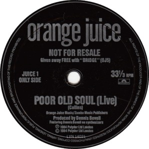 orange-juice-poor-old-soul-live-polydor