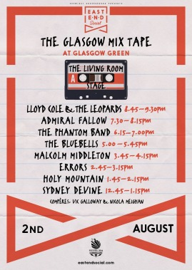 EES Glasgow Mix Tape Living Room