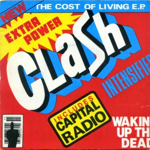 The Clash - The Cost Of Living EP - Front